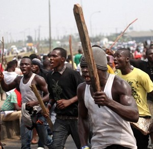Commotion as Students Beat Up Their School Principal and Bursar Mercilessly Over Food