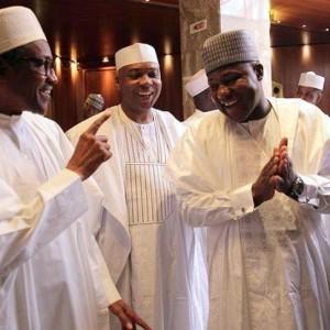Why Buhari Met Saraki and Dogara at the Villa Today…See Details