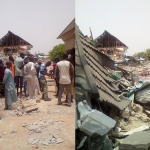 APC Governor Allegedly Demolishes the Mansion of Top APC Chieftain in Kaduna (Photos)