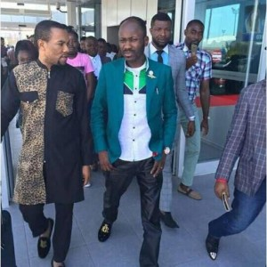 Gospel Swagger: Apostle Johnson Suleman Arrives Cyprus in Style (Photos)