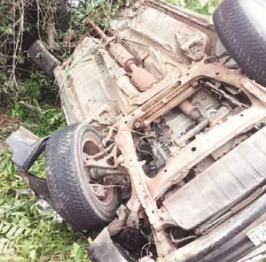 Oh No! Tears Flow as Father, Children, Sisters-in-Law Perish in Anambra Accident (Photos)