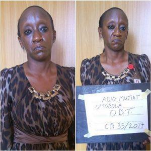 See the Female Court Official Arraigned for Duping a Man N9.2m in Ibadan (Photos)