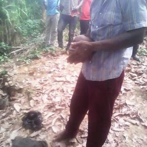 Wicked Father Beheads His Son, Chops Off His Legs for Money Ritual (Graphic Photos)