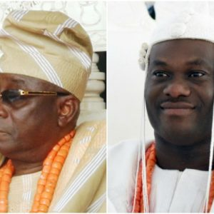 Nigerians blasts Oba of Lagos for disrespecting the Ooni of Ife