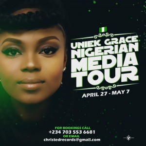 Funke Uniekgrace Annouces Media Tour In Nigeria |@uniekgrace