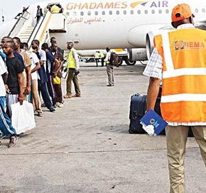 90 Nigerian Deportees Arrive Lagos from South Africa