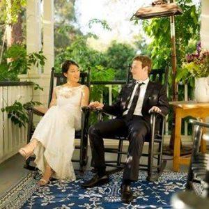 Facebook founder, Mark Zuckerberg and his wife, Priscilla, celebrate 5th wedding anniversay