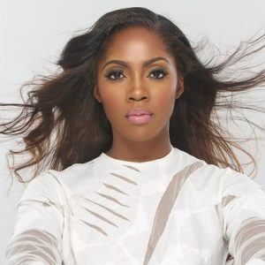 Tiwa Savage Under Fire for 'Disrespecting' Ghanaian Flag (Video)