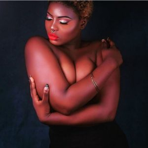 Lagos Model Sets Instagram on Fire by Exposing Bare Boobs (Photos)