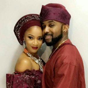 Checkout Sweet Engagement Photos of Banky W and His Sweetheart, Adesua Etomi