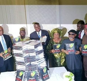 Patience Jonathan, Saraki, Others as Special Guests at Dino Melaye's 'Antidote to Corruption' Book Launch (Photos)