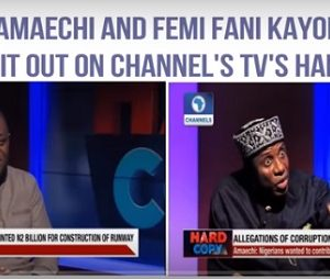 Media War Continues as Fani-Kayode Sues Amaechi for Defamation of Character Over N2B Airport Scandal
