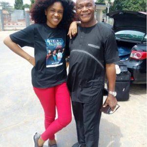 Tragic! Star Actress, Omoni Oboli Loses Dad in Fatal Auto Crash