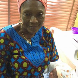 Jubilation as 63-year-old Nigerian Woman Reportedly Gives Birth to Her First Child (See Photos)