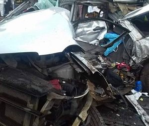 36 Persons Burnt to Death as Two Passenger Buses Collide Along Lagos-Ibadan Expressway
