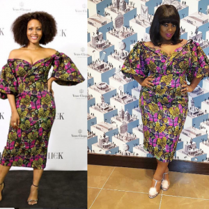 Battle of the Ankara dress- Toolz vs Osas Ighodaro