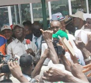 How Saraki, Dogara and Others Were Harassed Out of May Day Rally in Abuja