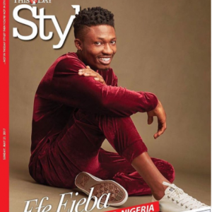 Checkout Efe On The Cover Of ThisDay Style