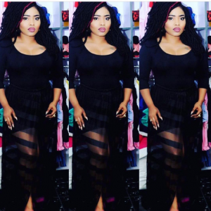Tonto Dikeh Shows Her Support For Halima Abubakar