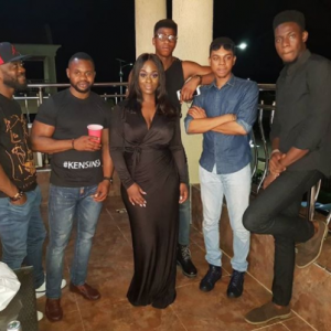 Uriel, Kemen, Soma, Show Up To Support Cocoice