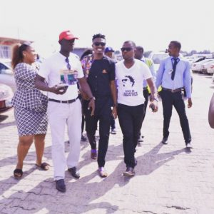 BBNaija: Efe Arrives Warri in Style for His Home-coming Concert Photos