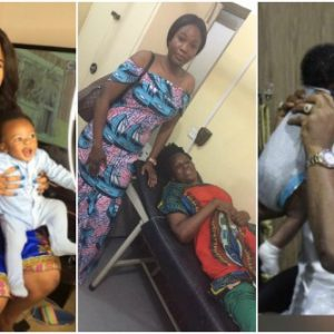 Tonto Dikeh Allegedly Abandons Her Son's Sick Nanny In The Hospital