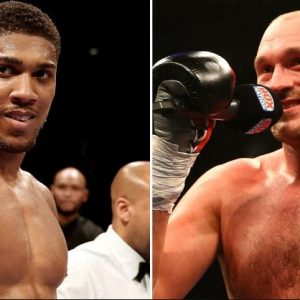High Profile Boxing Match Between Anthony Joshua and Tyson Fury Announced
