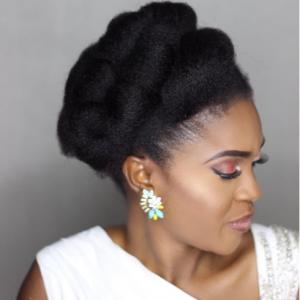 Omoni Oboli Flaunts Natural Hair In New Photo