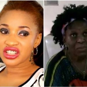 Tonto Dikeh Confronts Nanny Who Said She Abandoned Her At Hospital | Watch