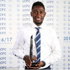 Super Eagles Star, Wilfred Ndidi Named Leicester City's Young Player of the Year