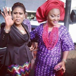 Lady accused of having affair with Mercy Aigbe's hubby demands N500m