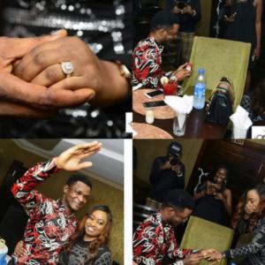 Photos: Gospel artiste, Joe Praize gets engaged to his girlfriend