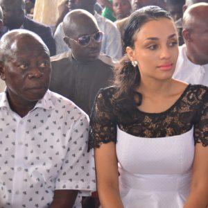 Oshiomhole's Wife, Iara Granted Nigerian Citizenship