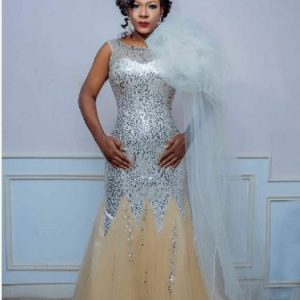 Nigerian Actress, Susan Peters Rocks a Million Naira Dress For Her 37th Birthday Shoot