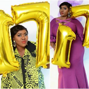 Nollywood actress causes confusion with 17th birthday celebration photos