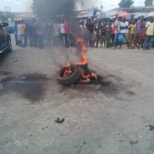 Graphic Photos: Another suspected thief burnt to death in Calabar