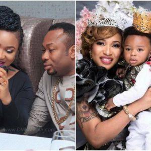 Churchill Olakunle wishes estranged wife Tonto Dikeh a happy birthday