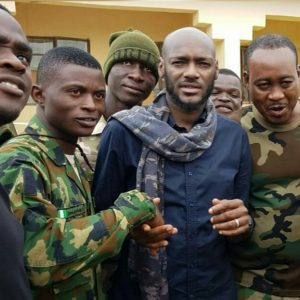 2face Visits Soldiers And Internally Displaced Persons In Maiduguri (Photos)
