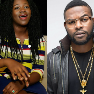 Fola Falana: Falz's younger sister is engaged!