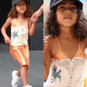 Kim Kardashian and Kanye's daughter, North is so grown (Photos)