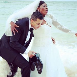 Leave my family alone! – Uche Jombo reacts to reports that her marriage has crashed