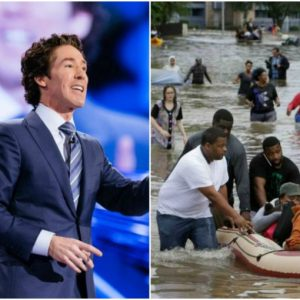 Joel Osteen bows to pressure, opens his Megachurch doors to Houston flood victims