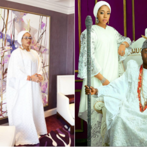 Olori Wuraola finally breaks silence about the end of her marriage to Ooni of Ife, reverts to her maiden name