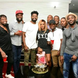 Photos from Basketmouth's birthday house party
