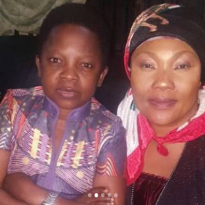 Tonto Dikeh, Monalisa Chinda, Chinedu Ikedieze, others pay Eucharia Anunobi a condolence visit (Photos)