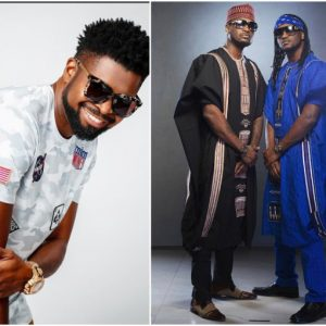 Basketmouth reacts to Psquare's viral fight video