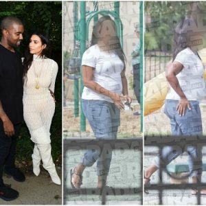 See Kim and Kanye West's stay-at-home surrogate
