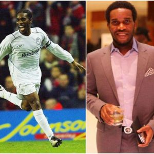 Jay Jay Okocha voted Bolton's best player in last 20 years