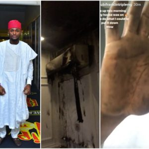 'Faulty AC caused the fire in my home this morning' -Ubi Franklin