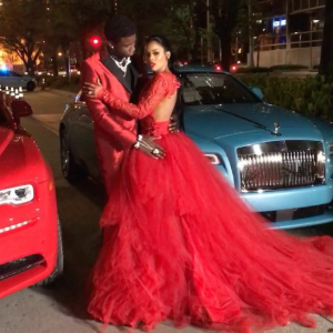 Rapper Gucci Mane gifts his fiancée a Rolls-Royce Wraith as they set to tie the knot today (Photos)
